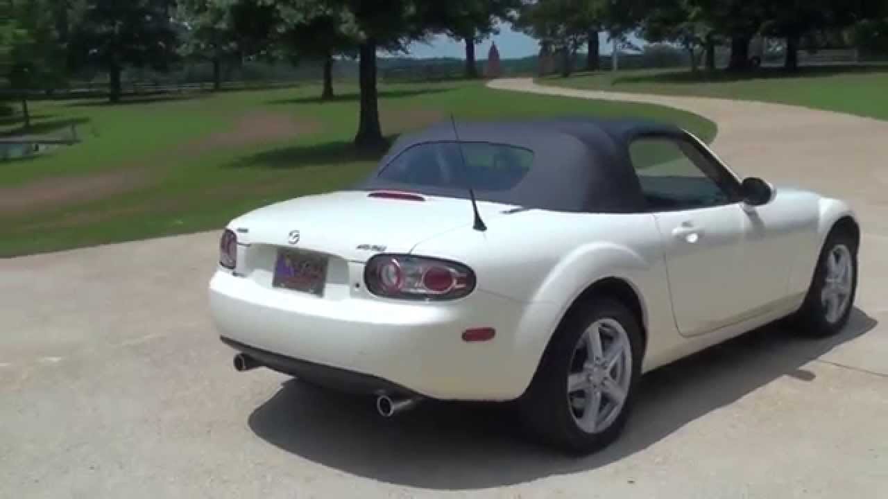 HD VIDEO 2006 MAZDA MIATA MX5 TOURING CONVERTIBLE USED FOR SALE SEE ...