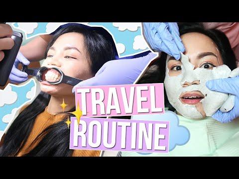 facial,-gluta,-braces...-my-travel-beauty-routine-❤️