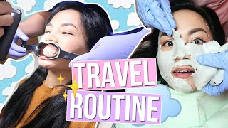 FACIAL, GLUTA, BRACES... MY TRAVEL BEAUTY ROUTINE ❤️