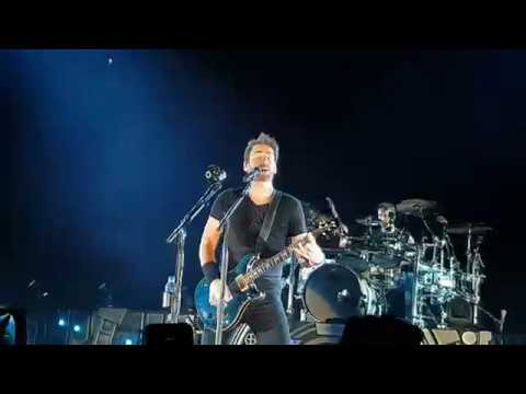 Nickelback - How You Remind Me @Moscow 21.05.2018 4K