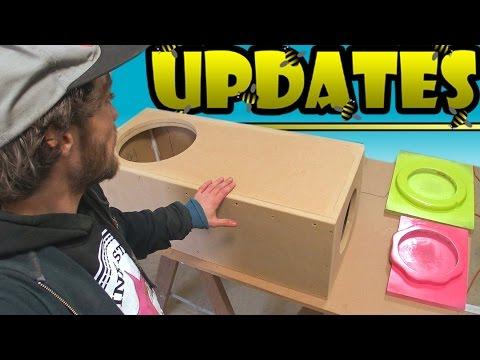 "12"" Ported Subwoofer Box UPDATE w/ EXO's BigAss Adjustable Port | Car Audio Plans & 18"" PSI Sub"