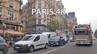 Paris 4K - Morning Drive