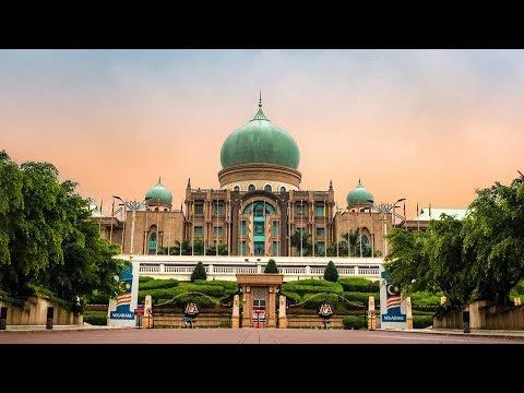 Unique Architecture In Putrajaya! Perdana Putra! - Vlog#18 - Kuala Lumpur, Malaysia