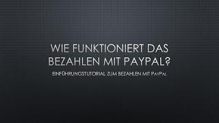 Wie funktioniert PayPal? - HT #001 | JTS