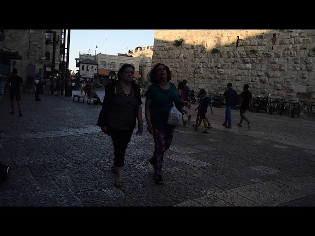 Threatened to be stabbed in the face today after being spit at in the eye in Jerusalem