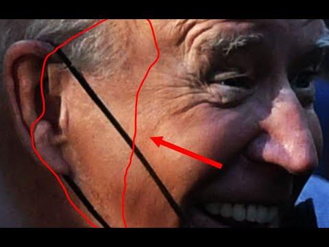 Joe Biden strange ear at 911 Memorial