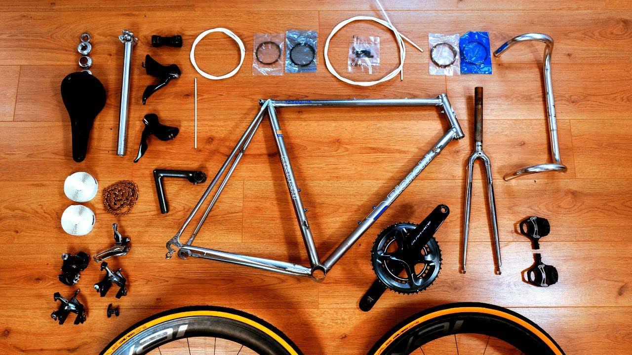 DREAM BUILD BIKE  - vintage bianchi  - road bike restoration project