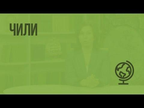 Чили. Видеоурок по географии 7 класс