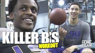 "Ben Simmons Workout with Antonio Blakeney ""Killer B's"""