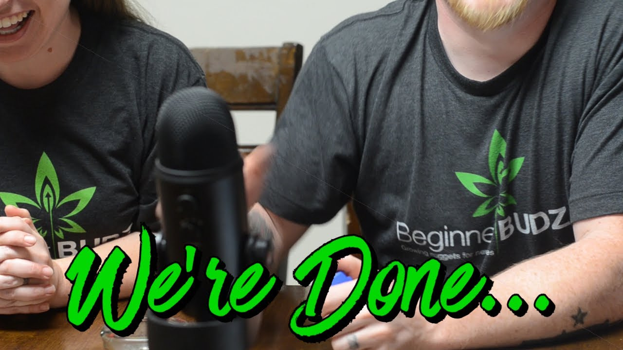 We're done. . .