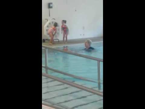 Trenton swimming lesson