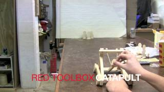 Red Toolbox Catapult