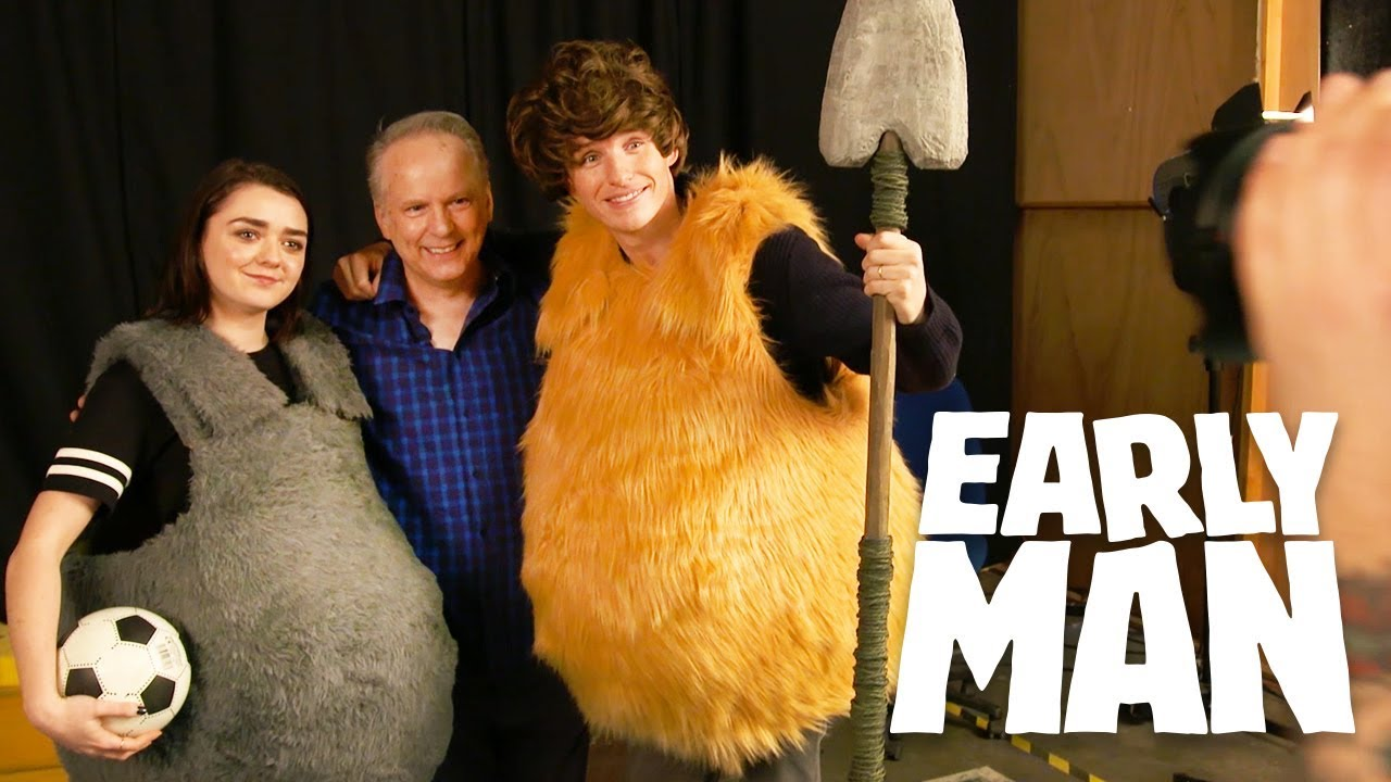 Download Early Man: Eddie Redmayne and Maisie Williams' Grand Day Out