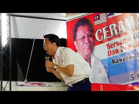 GE14  Mr.  Phoong Ju Zhe,  Candidate for DAP , DUN N.16, calling for