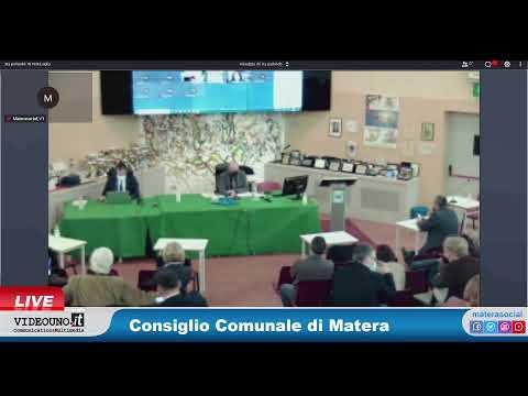 Consiglio Comunale di Matera 31 marzo 20211) INTER...