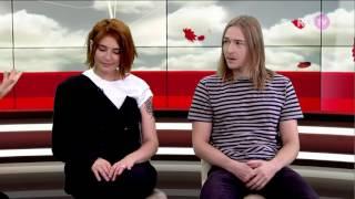 Группа Сухие   Интервью в  Столе заказов  на RU TV
