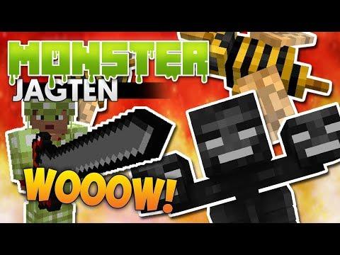 Monster Jagten: HER ER FARLIGT! #3 (Modded Minecraft)