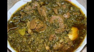 Shalgam Palak Gosht  Very Healthy and Delicious Recipe