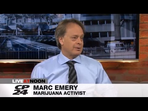 CP24 Live at Noon with Marc Emery on the Liberal legalization task force report