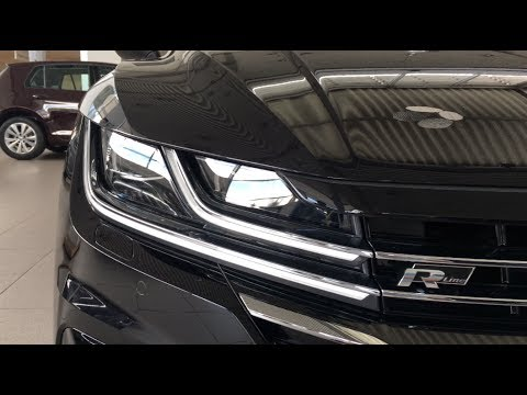 Volkswagen Arteon 2017 R Line (black) in depth first look in 4K