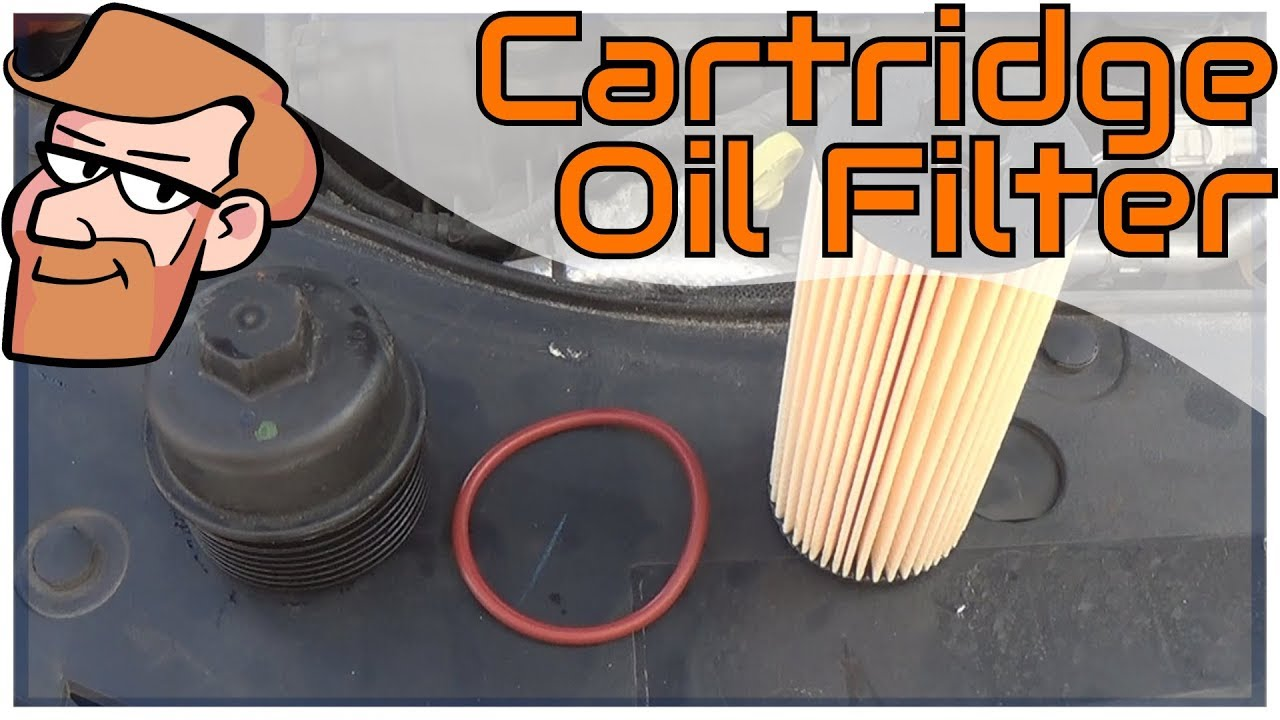 How To Replace A Cartridge Oil Filter Dodge Avenger Example