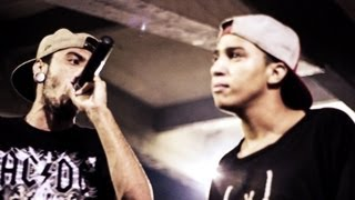 Duelo de MCs - Well vs Marinho :: BH vs DF - 22/03/13