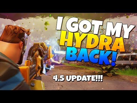 I GOT MY HYDRA BACK! Collection Book UNSLOTTING! | Fortnite Save The World