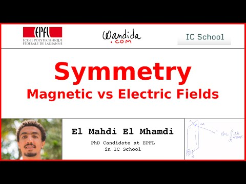 Symmetry - Magnetic vs Electric Fields | El Mahdi El Mhamdi