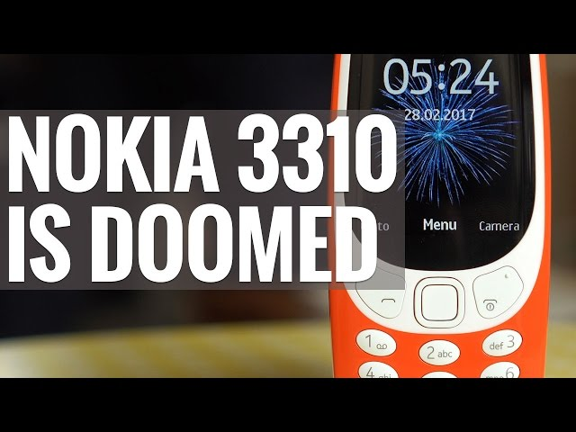 Nokia 3310 2017 Full Phone Specifications
