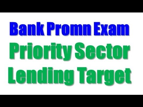 Bank promotion exam priority sector lending targets youtube bank promotion exam priority sector lending targets publicscrutiny Image collections