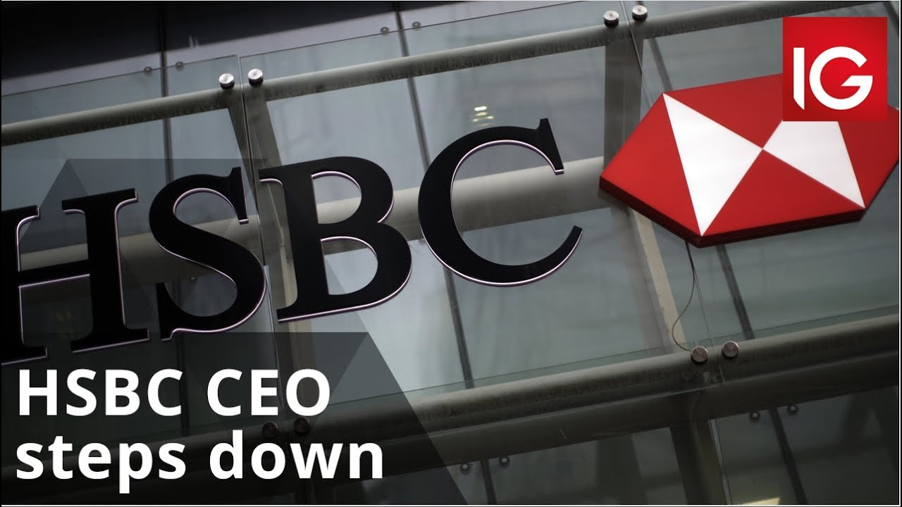 HSBC CEO steps down as bank faces 'tough environment'
