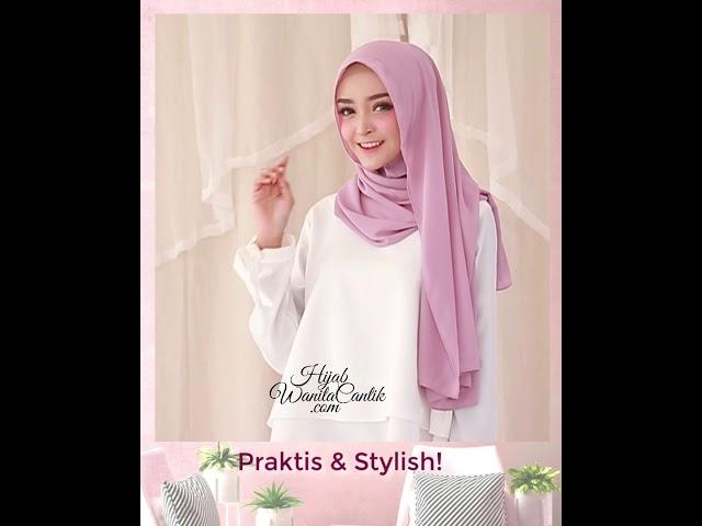 Hijab Tutorial Instan Kiva Original By Hijab Wanita Cantik Youtube