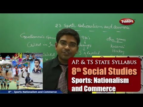 Sports Nationalism and Commerce | 8th Social Studies | AP & TS State Board Syllabus | Live Video