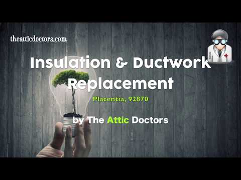 Attic Insulation Cleaning and Ductwork Replacement Service-Orange County-The Attic Doc
