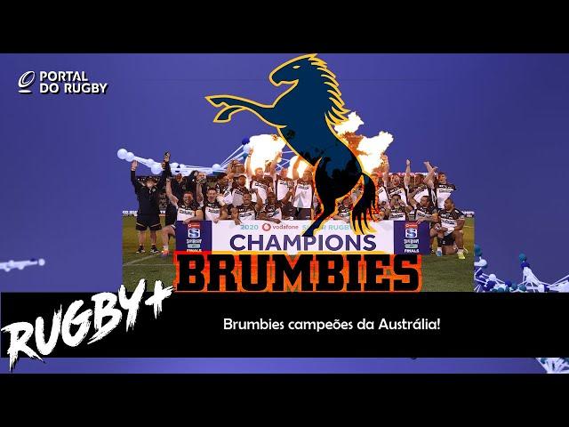 Brumbies campeões da Austrália!