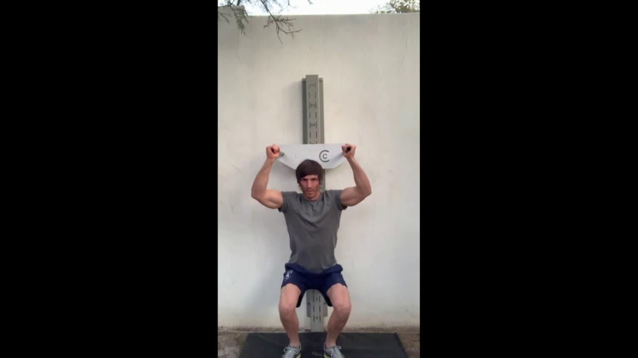 Shoulder Press Squat - Dip Stand No. 4 - YouTube