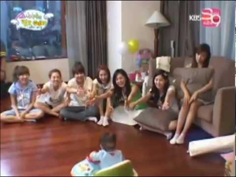 [Hello baby SNSD ep 2 cut] Tiffany best mom