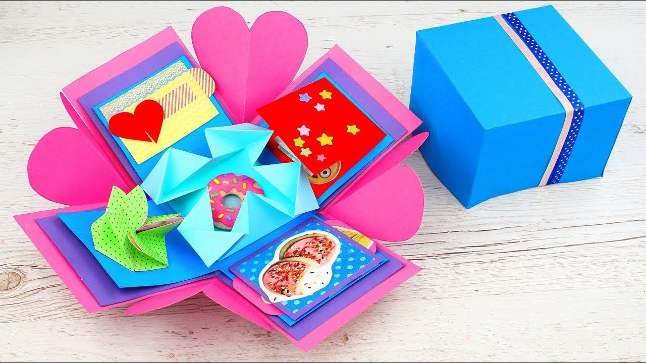 Presente Criativo Para Dia Dos Namorados Diy Caixa Explosiva Youtube