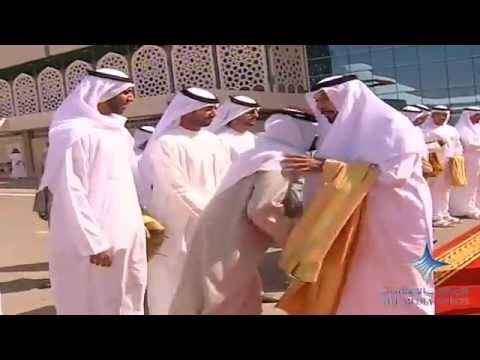 Khalifa seen off by Mohammed bin Rashid
