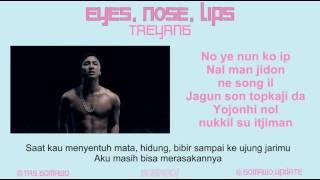 TAEYANG- EYES, NOSE, LIPS [MV, EASY LYRIC, LIRIK INDONESIA]