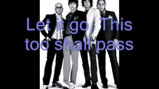 This Too Shall Pass by OK Go with lyrics