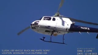 Helicopter Harassment 4 Reptilian Videos Log (January 2016)