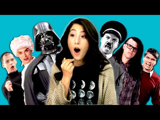Teens React to Epic Rap Battles of History Travel Video