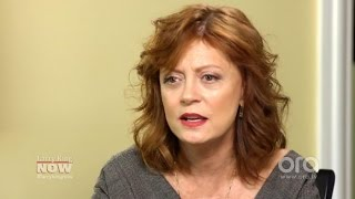 """Susan Sarandon on Obama: """"There's a number of things I'm not happy with""""   Larry King Now   Ora.TV"""
