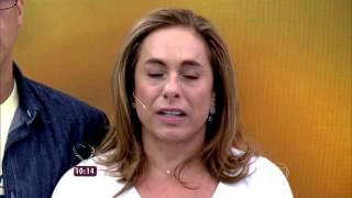 Cissa Guimarães não contém a emoção ao relembrar morte do filho