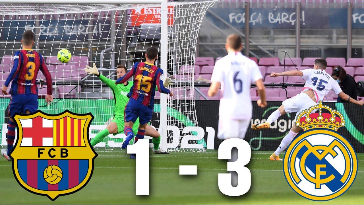 Barcelona vs Real Madrid [1-3], El Clasico, La Liga 2020/21 - MATCH REVIEW