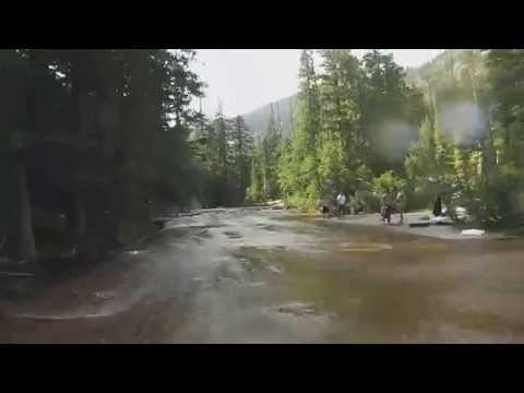 Priest Lake Water Slides