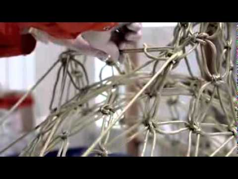 Knotted chair sessel youtube for Marcel wanders stuhl