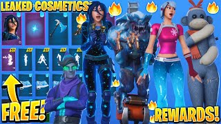 *NEW* All Leaked Fortnite Skins & Emotes..! *FREE REWARDS* (Minty Elf, Frozen Nog Ops, Monks & More)