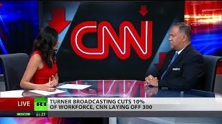 CNN cuts 300 jobs as tabloid style coverage increases
